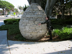 IMG_4530 (red.rubies) Tags: stone heather egg lajolla cairn andygoldsworthy mcasd