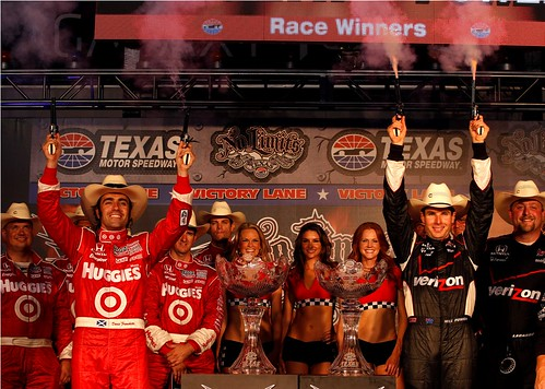 Franchitti e Power: 2011 IndyCar Texas