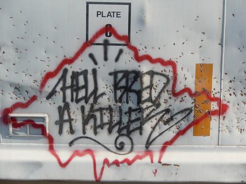 06-11-11 Rail Car Graffiti @ Renville, MN06
