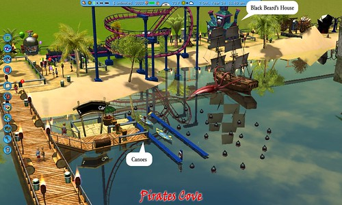 RollerCoaster Tycoon 3 in the Sandbox (many pics) | Gamers