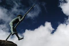 La estatua de Tasarte.
