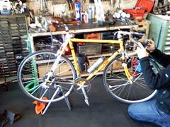 自転車店発見