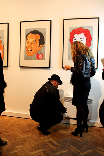 obama night at galerie 55 Paris