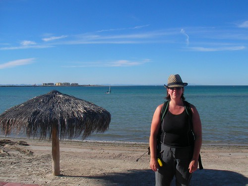 Darusha on the Beach in La Paz