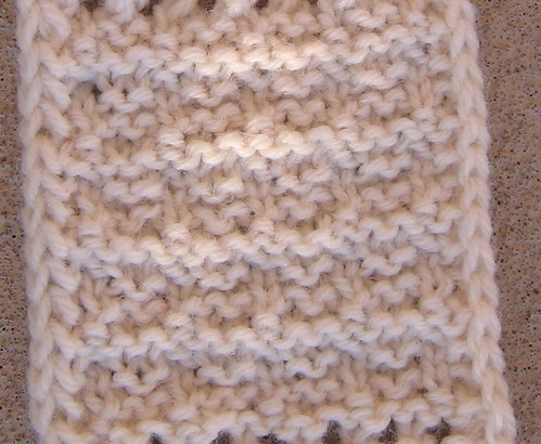 Fuzzy Logic 3 Row Reversible Knit Purl Iii