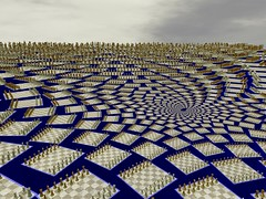 Chess vortex (fdecomite) Tags: spiral infinity chess math doyle povray recursivity
