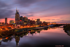 Nashville,TN (ir guy) Tags: city sunset water skyline night river tn nashville tenn hdr musiccity nashvilleskylinescom jeremyholmesphotography capitaloftn photopolisurbanartisticimages