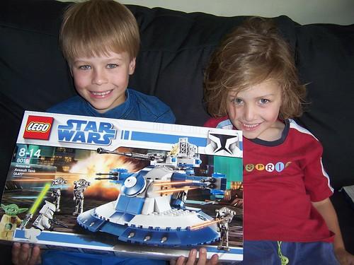 Lego present from Grandma M_7591