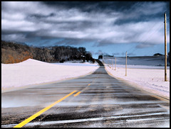 Windchill (Dan Krecklow) Tags: winter cold highway olympus blowingsnow smrgsbord windchill e410 olympuse410 photographybydankrecklow