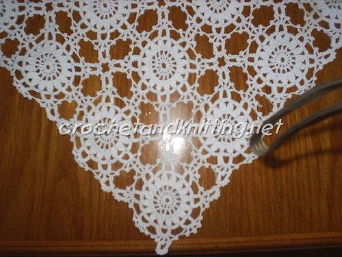 Squared Lace Doily Pattern