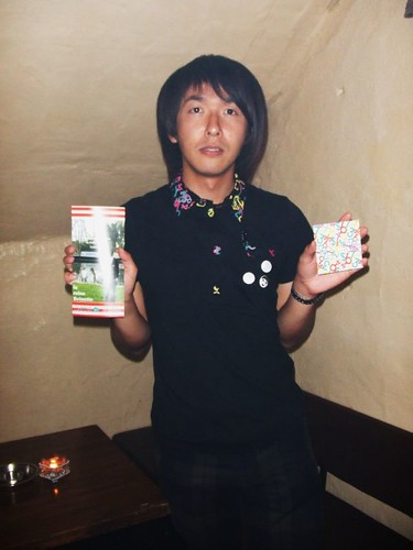 "Shintaro from Event ""Milk"" Organizer"
