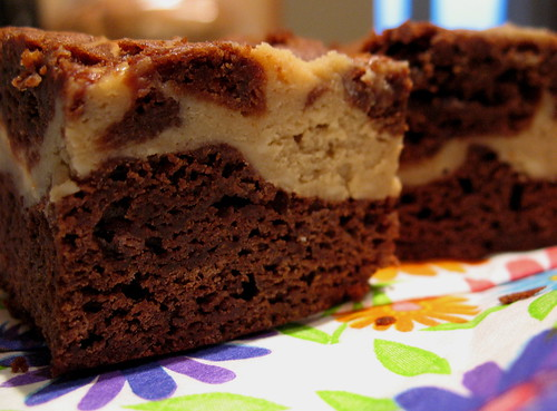 Cappuccino Cheesecake Brownies ~ Chasing Tomatoes