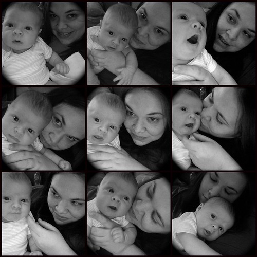 If it weren't for photobooth, I'd have very few pics with my kids.