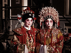 Opera Singers (Vineyards) Tags: costumes amsterdam chinatown chinesenewyear celebration nieuwmarkt lunarnewyear chineseopera springfestival chineesnieuwjaar feestdag yearoftheox lentefestival nieuwjaarsviering jaarvandebuffel ondernemersvereniging