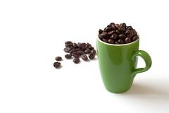 """""""Strong coffee"""" ((Erik)) Tags: brown white green cup coffee beans groen stock conceptual cappuccino wit bruin koffie bakkie bonen lepeltje koffiebonen koffieverkeerd strongcoffee buddyisservingyoucoffee timeforsenseo bonenbooster sbooster enboontjes veelmelkeneenbeetjesuiker bonenspammerrrrrwegaanvoor1"""