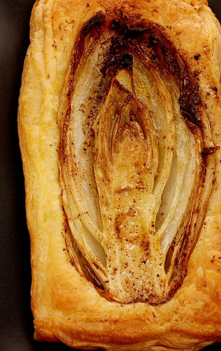 caramelised endive tart© by Haalo