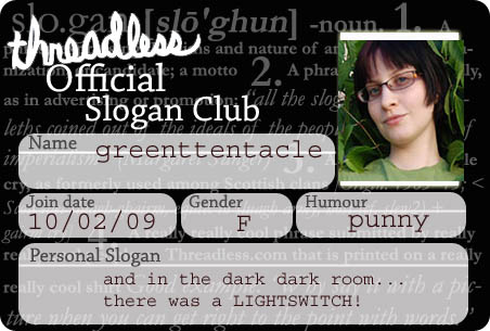 Slogan Club Membership Card
