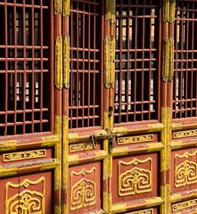 Chengde, China. (Mike NZ) Tags: china door travel building architecture buildings asian nikon asia doors architecturaldetail chinese entrance structures structure architectural doorway portal hebei exit oriental orient eastern portals chengde edifice edifices mikehollman
