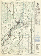 Selkirk National Topographic Series Sheet 62 West Half (1953) (Manitoba Historical Maps) Tags: history maps selkirk cartographymanitobahistory