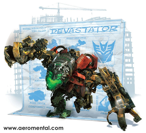 Thumb Transformers 2: Los CGI de Devastator y The Fallen