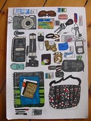 what's in my bag colored (sissetine) Tags: camera money sunglasses pen gum bag notebook keys key ipod phone drawing marker colored whatsinyourbag draw pens drawn ricola whatsinmybag contents deodorant bagcontents mints notebooks