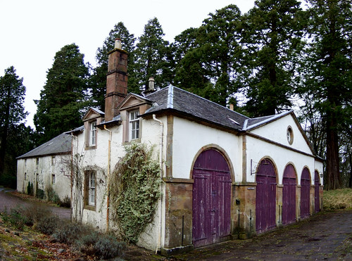 Coach house at Dumfries house