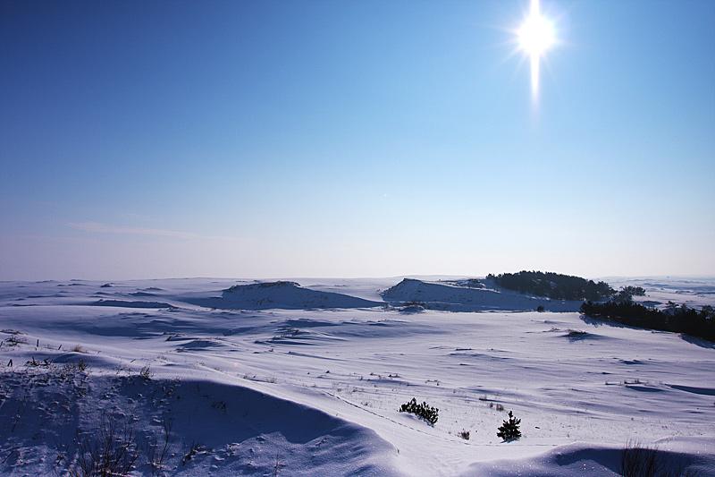 Снежные дюны