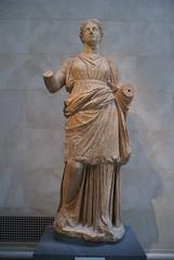 Marble Statue of a Woman (griannan) Tags: 2009 funerary loh metmuseum greekandromangalleries opalartseekers4 WLA:org=metmuseum WLA:cat=1 WLA:team=opalartseekers4
