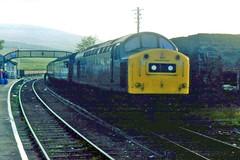 Class 40 40168 Achnasheen 29/8/79 (Stapleton Road) Tags: train whistler rail railway class british locomotive 40 1979 dingwall class40 railwayphotography