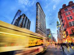 Flatiron (Tony Shi Photos) Tags: nyc newyorkcity manhattan hdr 23rdst metropolitanlifebuilding flatirondistrict   nikond700    thnhphnewyork  tonyshi   flatrionbuilding bustrial