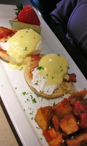Eggs Benedict @ Milestones Restaurant