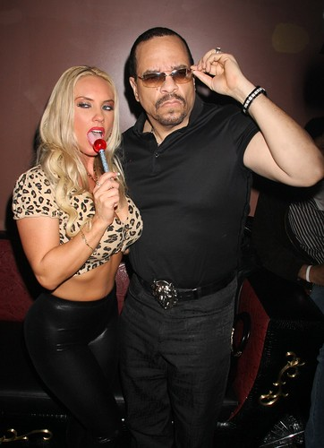 ice t coco twitter. Coco and Ice T arriving at