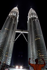 Strong As The Twins (stardex) Tags: building architecture skyscraper towers twin malaysia twintowers kualalumpur aplusphoto