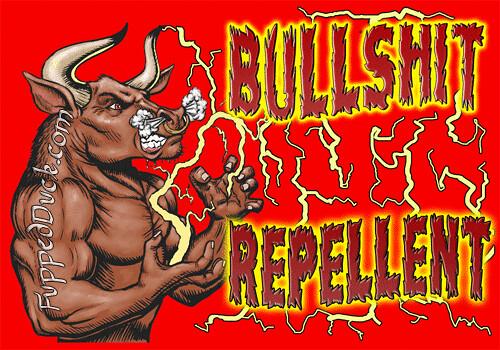 bullshit-repellant-red-500 by FuppedDuck.