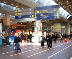 Oslo Train Station Interior (bryanDeldridge) Tags: winter oslo norway scandanavia