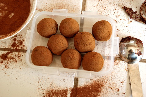 At Home: Raw Cinnamon Almond Truffles