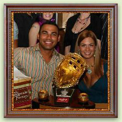Hey Carlos Pena, You Just Received Your Gold Glove, Where Are You Going?