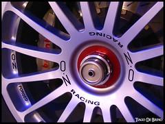 OZ Racing (Tiago De Brino) Tags: canon italia oz wheels ferrari racing galleria roda forged a100 maranello brembo gtc 575