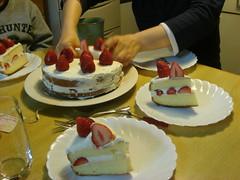 イチゴケーキ / Strawberry cake
