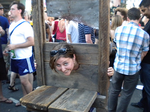 now I am in the guillotine