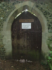 graveyard entrance (whichwould) Tags: clarepriory