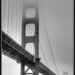 Golden Gate, HDR II (B&W)