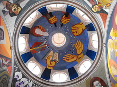 Cúpula multicolor (arosadocel) Tags: méxico de morelia ciudades michoacán palacio cúpula clavijero coloniales