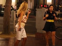 Wait a sec... (San Diego Shooter) Tags: sandiego streetphotography downtownsandiego gaslampquarter sandiegopeople sandiegostreetphotography gaslampsandiego gaslamppartiessandiego