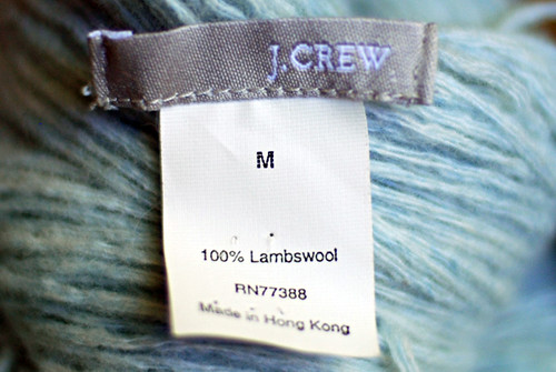 Quick Knits Club Dyed Yarn Tag