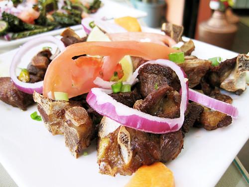 mutton fry @ thakali