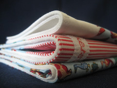 handmade burp cloths