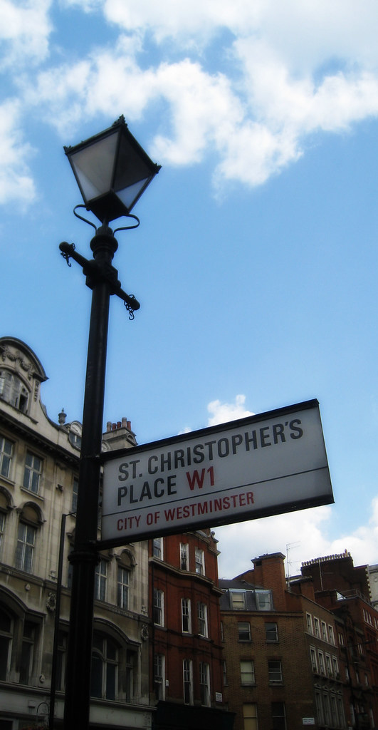 St Christopher's place