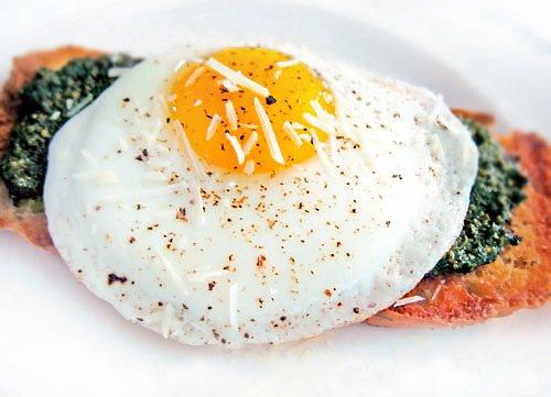 Egg and Pesto on Toast Recipe