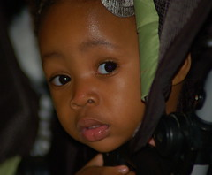 Eyes on Her World (Shirley Buxton) Tags: girl eyes child browneyes smallgirl childseyes blackchild